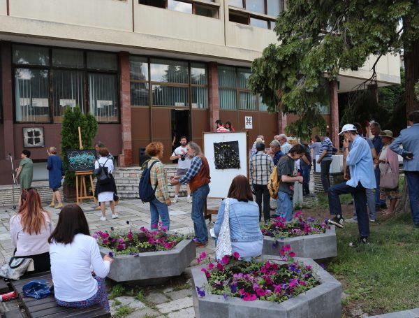 Будимо офлајн: Отворена изложба Војислава Станојчића